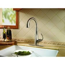 Kitchen Faucets For Pfister Avanti Single Handle Pull Down Sprayer Kitchen Faucet In