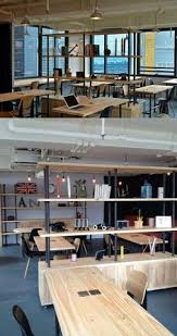 office work surfaces. Open Plan Office With Wooden Work Surfaces #openplanoffice U