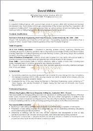 6 Example Of Written Good Cv Inta Cf