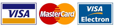 Resultado de imagem para logo visa e mastercard