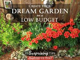 Small Picture 12 Surprising Tips Create Your Dream Garden on a Low Budget eBay