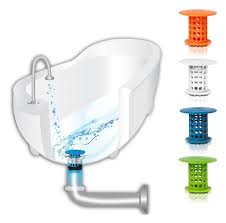 the revolutionary tub drain protector hair catcher strainer snare for bathtub