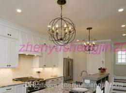 fabulous orb chandelier lighting pendant foucaults iron orb chandelier rustic iron loft light rh