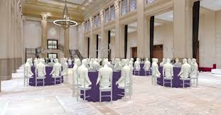 banquet table layout generator allseated conveys the table layout generator concept with its tools