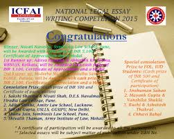 icfai dehradun s national legal essay writing competition result nlewc