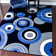contemporary area rugs orange and blue cobalt rug at studio in decorations extremely modern gray within