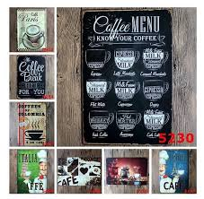 Small Picture Drink Menu Chic Home Bar Vintage Metal Signs Home Decor Vintage