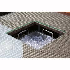 Ice Bucket Table Maze Rattan Monaco Corner Sofa Set With Ice Bucket Table The