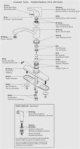 how to fix a leaky moen faucet kitchen new moen single handle kitchen faucet repair moen