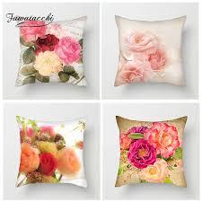 <b>Fuwatacchi</b> Various Floral Cushion Cover <b>Paris</b> Romantic Pillow ...