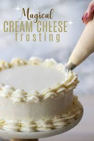 magical cream cheese frosting baking