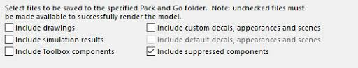 Solidworks Pack And Go Never Leave A File Behind