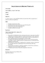 Qualifications For Retail Sales Associate Resume Template Retail S skill  resume