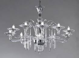 modern colorful chandelier. Crystal Clear Modern Murano Chandelier DML6012K10 Colorful L