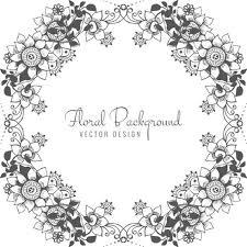 抽象的な装飾結婚式の花壁紙素材無料ダウンロードオシャレ壁紙