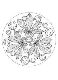Disegni Mandala Da Colorare Favole E Fantasia