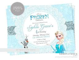 Design Your Own Birthday Party Invitations Frozen Birthday Invitation Ideas Birthday Invites Captivating