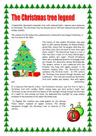 Christmas Reading Comprehension Worksheets Free Worksheets Library ...