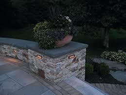 landscape wall lighting 2 outdoor night lighting in retaining wall landscape block wall lighting
