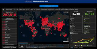 Johns Hopkins offers live, interactive map with global coronavirus cases |  WJHL