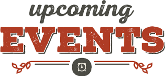 Image result for Up coming events clip art