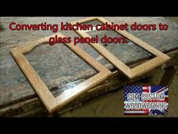 giving kitchen cabinet doors a new look