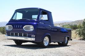 1960s Ford Econoline E100 dark blue van pickup | All pick-ups | Ford ...
