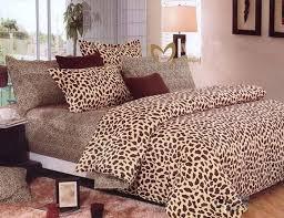 full size of zebra print quilt set pure cotton leopard brown classic animal print duvet super