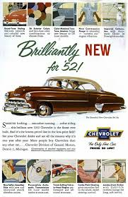 1952 Chevy Bel Air | US Classic Car Brochures Pics & Ads ...