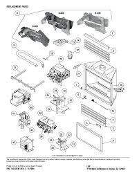 superior fireplace parts fak 1500 insert replacement expanded list