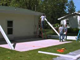 how to install the teton patio cover
