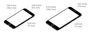 iphone 6 screen size inches iphone 7 vs iphone 7 plus which should you preorder cult of mac