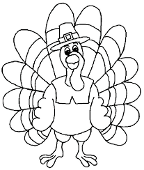 free printable turkey coloring pages thanksgiving page