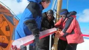Image result for image of ice core at NCAR