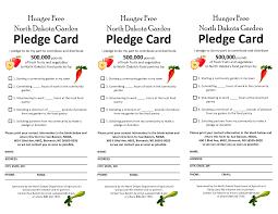 famous pledge card template pictures exle resume ideas