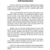 Example Essay Introduction Myself Mistyhamel