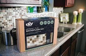 diy network kitchen backsplash kit. everything included for problem-free, easy installation diy network kitchen backsplash kit n