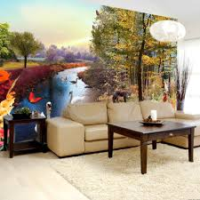 Wall Mural For Living Room Decoration Ideas Gorgeous Home Interior Decoration With Wall