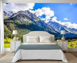 wall decor mountain nature wallpaper