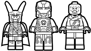 Lego Marvel Coloring Pages 51 With Lego Marvel Coloring Pages