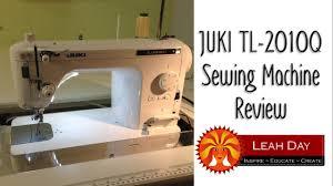 Sewing Machine Review: Juki TL2010Q - YouTube &  Adamdwight.com
