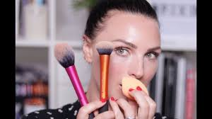 how to use makeup brushes for beginners real techniques