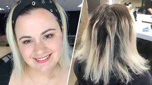 my epic hair breakage disaster shows