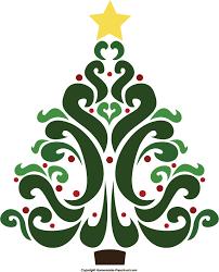 Christmas Tree Clipart #390. Free christmas tree clipart