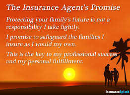an insurance agent s job is to protect your family that s something to be proud of insurance agent love life insurance insurance quotes
