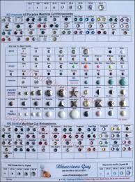 Swarovski Crystal Color Chart Actual Rhinestones Rhinestones Sample Cards By Rhinestone Guy
