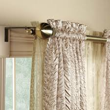 dream house using curved curtain rods for windows terrific design ideas awesome double curved curtain