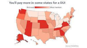 The Strictest And Most Lenient States For Dui Marketwatch
