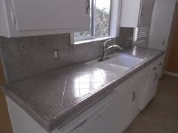 Granite Tile For Kitchen Countertops Popular Grey Granite Countertop Table Design Ideas
