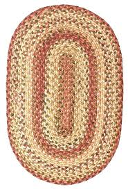 red braided rug oval area rugs living ultra durable braided rugs red oval red white and
